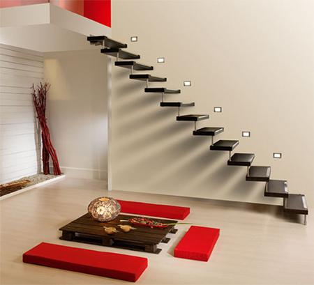 House interior steps design - House interior