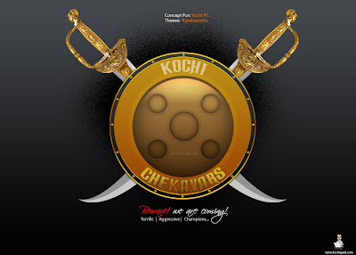 Kochi Chekavars - Concept Logo and Name for Kochi IPL Team