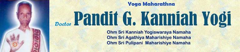 Pandit G Kanniah Yogi
