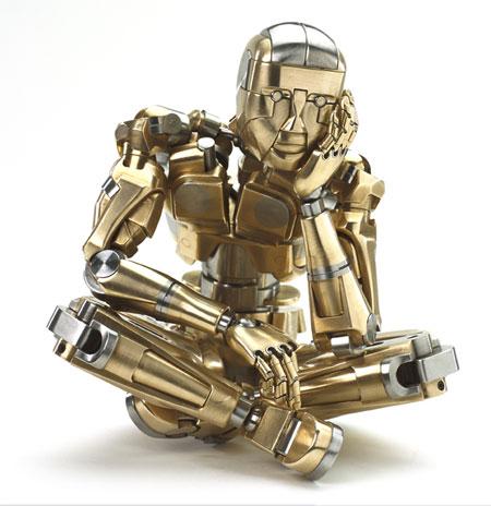 Robô pensativo