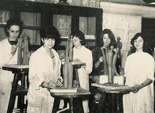 Sadora en la escuela nacional de cerámica