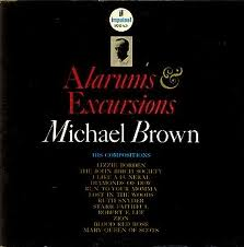 Michael Brown - Alarums and Excursions album cover
