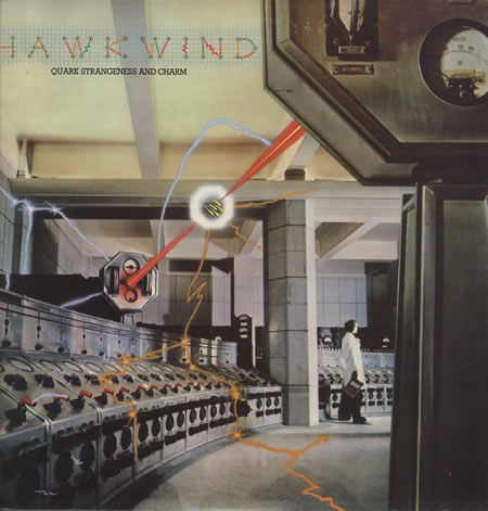 Hawkwind - Quark Strangeness and Charm album cover