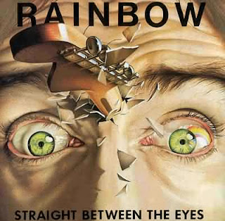 Rainbow - Straight Between the Eyes album cover
