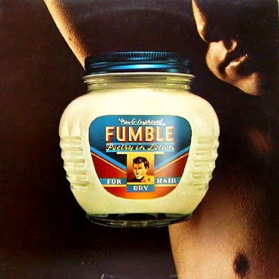 Fumble - Poetry in Lotion album cover