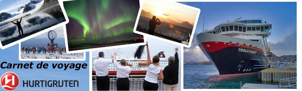 <center>Le Blog des voyages Hurtigruten</center>