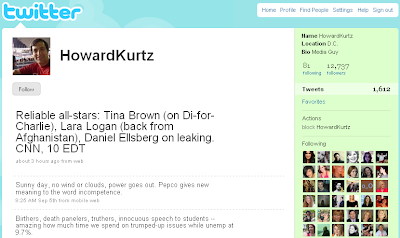 Howard Kurtz Twitter