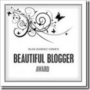 Beautiful Blogger Award ♥