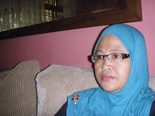 **hijab tanpa awning biru