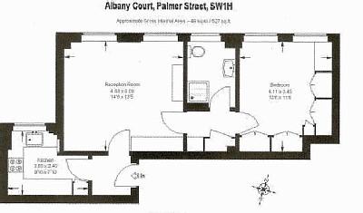 2 Bedroom Luxury Apartment Plans