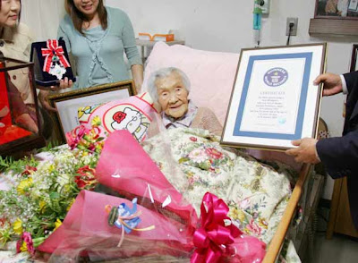 Mujeres japonesas mas longevas
