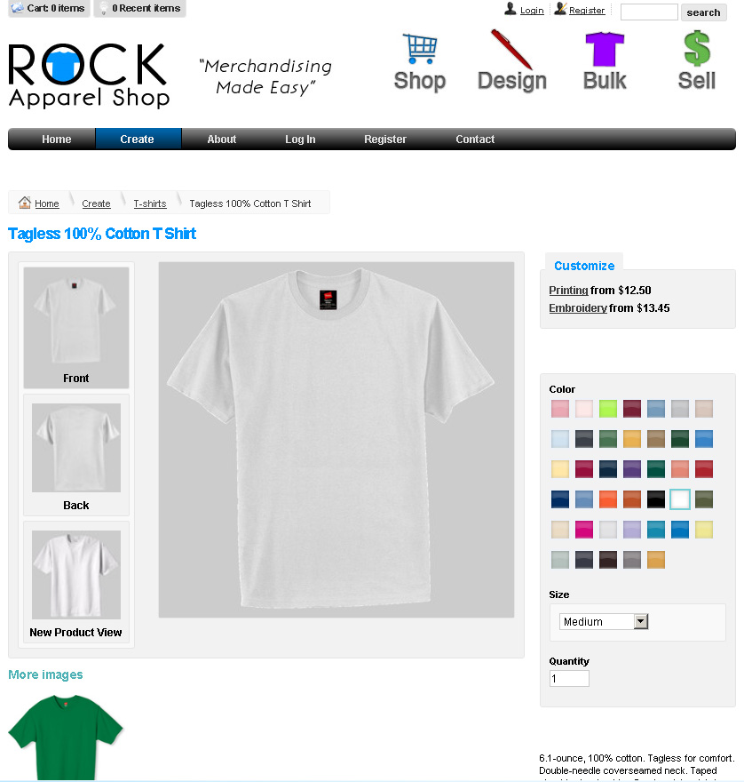 Rocksports t shirts design your own t shirt online for Design my own shirt online