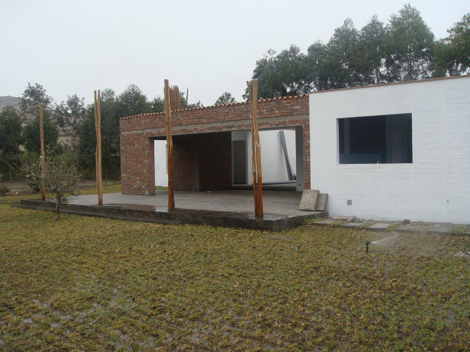 Increte per systems casa de campo en construcci n for Construccion casas de campo