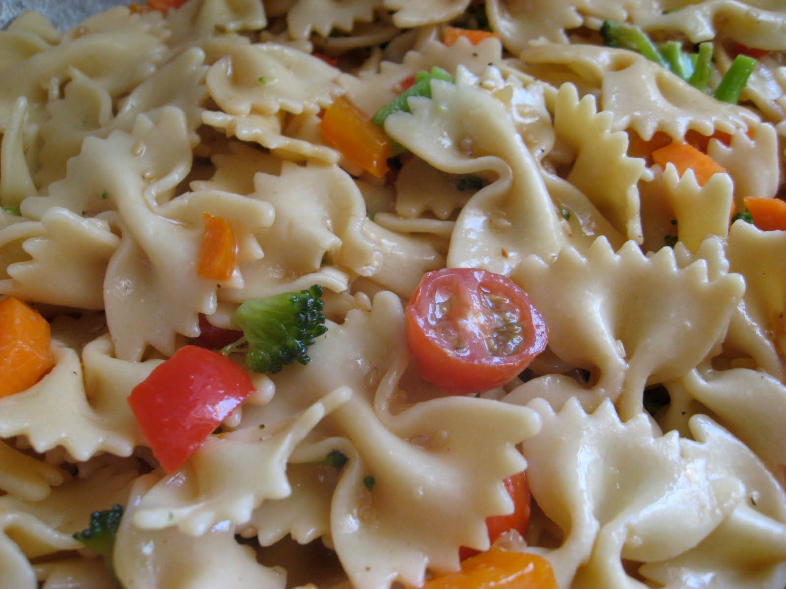 Teriyaki Pasta Salad Recipe & Italian Pasta Salad Recipe