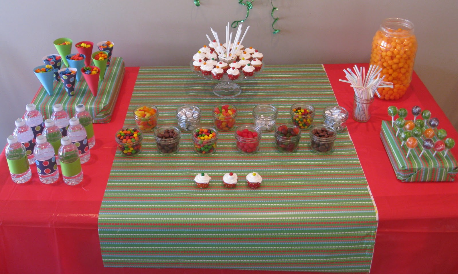 Gudu ngiseng blog cheap and easy birthday party ideas for Home made party decorations