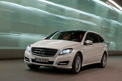 2011 mercedes benz r class luxury car
