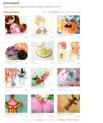 treasury,princess,neverland,print,etsy