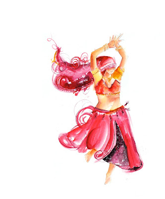 bhangra,india,dancer,painting,art