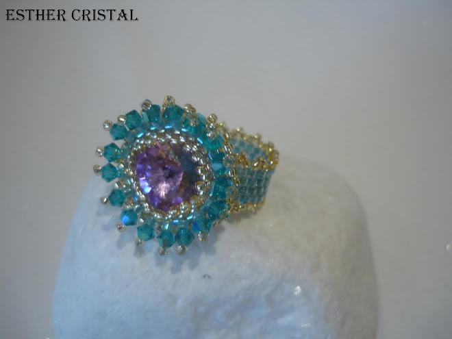 Anillo Crystal Burst