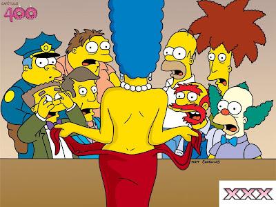 Springfield Si Amigos Aunque No Lo Crean Se Trata De Los Simpson