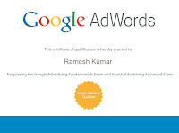 Google Certified Partner, New Delhi, India