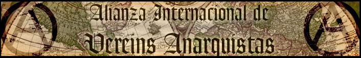 Alianza Internacionad de Vereins Anarquistas