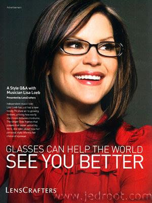 smart boys make passes at girls who wear glasses.