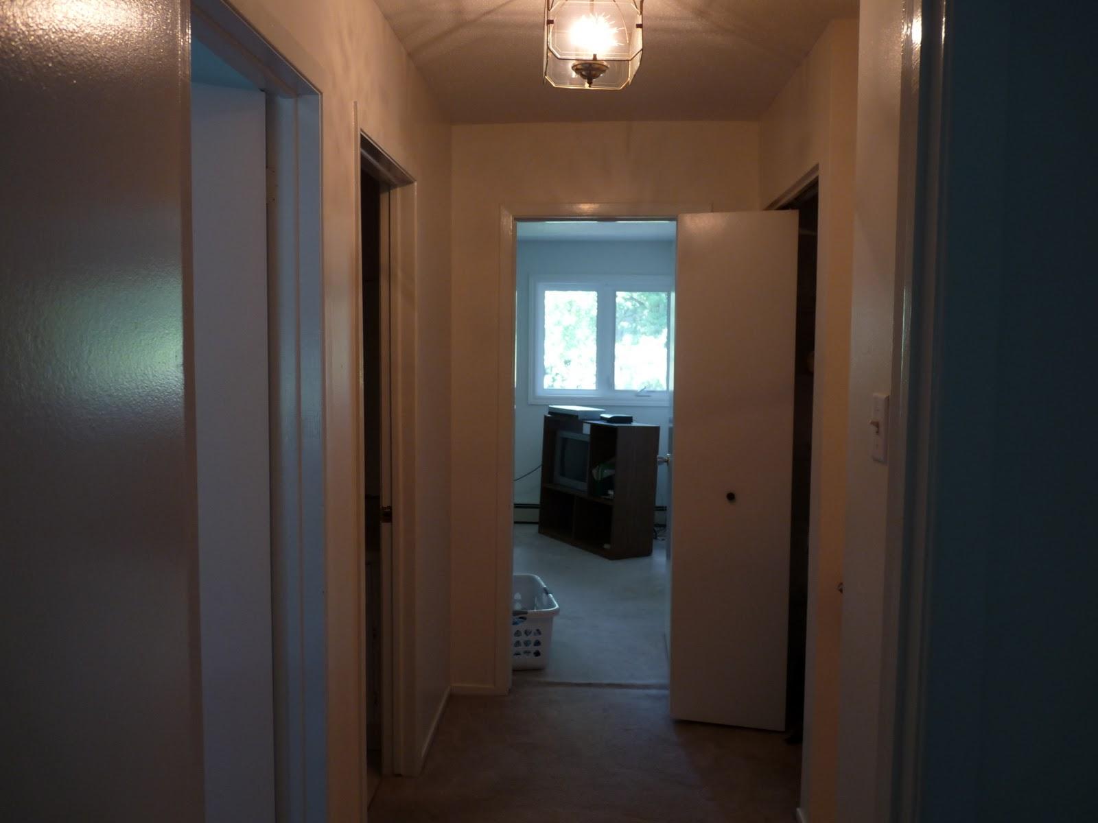 Diy Hardwood Floors Dans Le Lakehouse How To Lay A Floor Hallway Before Note The Ripple