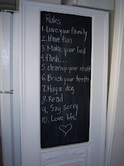 Door chalkboard