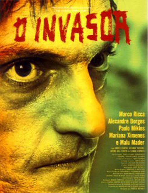 Filme Poster O Invasor DVDRip XviD & RMVB Nacional