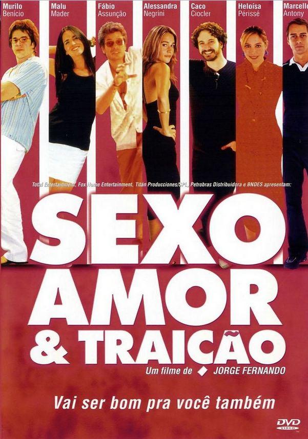 Filme Poster Sexo, Amor e Traição DVDRip XviD & RMVB Nacional