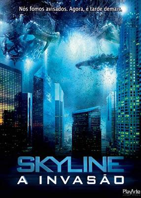 Filme Poster Skyline - A Invasão R5 XviD Dual Audio & RMVB Dublado