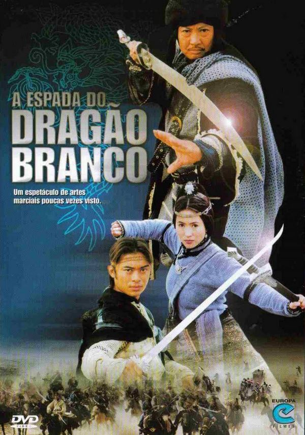 Filme Poster A Espada do Dragão Branco DVDRip XviD & RMVB Dublado