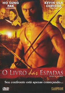 Filme Poster O Livro das Espadas DVDRip RMVB Dublado