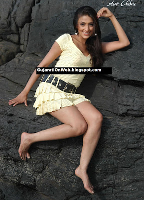 Aarati Chabaria Sexy Legs in a Short dress
