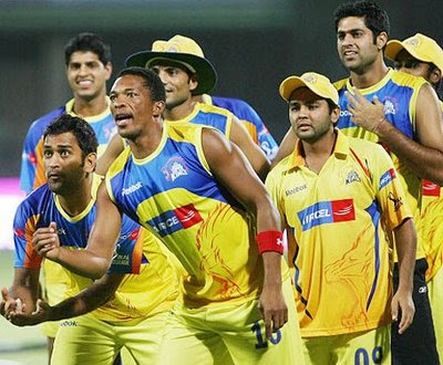 Chennai Super Kings IPL-3 champions