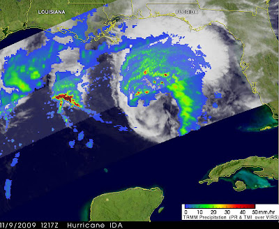 NASA Satellites Make a Movie and Get Rainfall, Wind Info on Ida