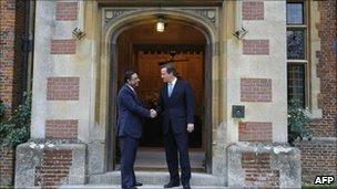 Cameron and Zardari