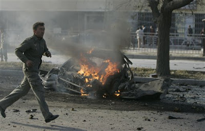 Afghan car bomb attack