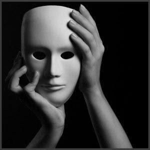 La máscara para la persona de la avena pelada y el óleo etérico