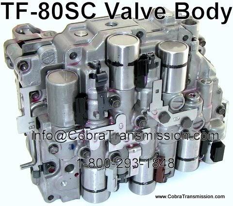 Tf Sc Valve Body