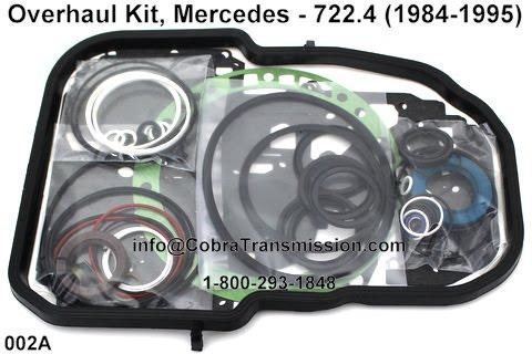 Cobra transmission parts 1 800 293 1848 722 4 mercedes for Mercedes benz transmission repair