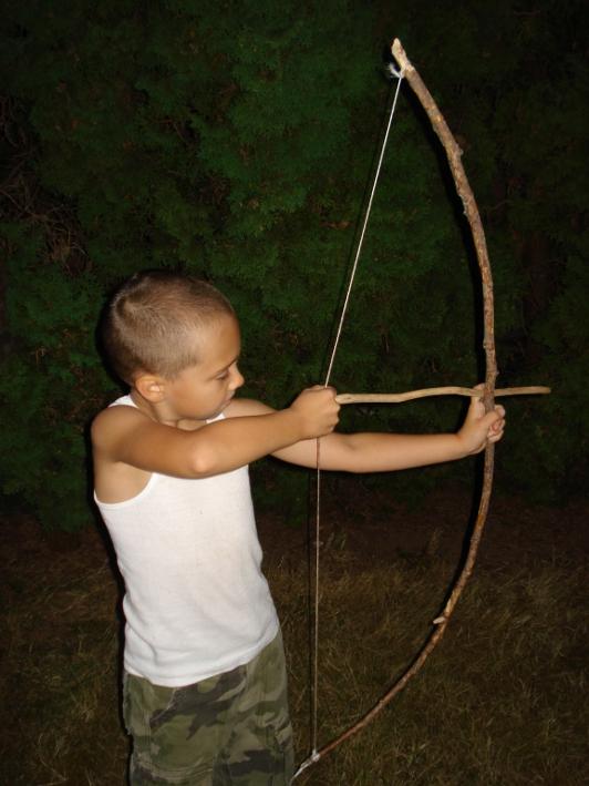 Сделать лук для ребенка своими руками