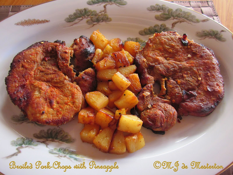 Elegant Pineapple Pork Chops title=