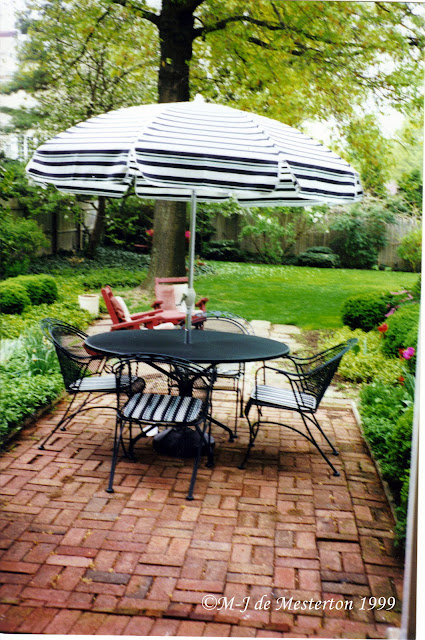 Iron Patio Dining Table