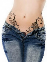 cute tattoo on waist tattoos for girls tattoos