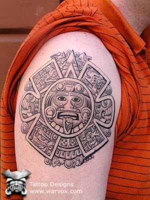 aztec tattoos, aztec tattoo designs, aztec tattoo art, tattoo designs