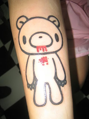 Bear tattoo designs have grown to become very popular in tattoo art recently