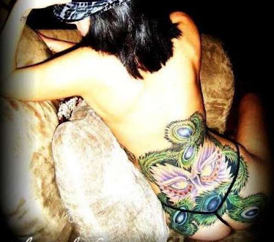 Tattoo Girls on Tattoos For Girls Images  Exotic Back Tattoo Girls