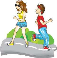 Jogging Asik, Mata keranjang